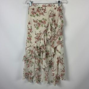 NWT Chelsea & Violet Wrap Skirt Small Floral $98